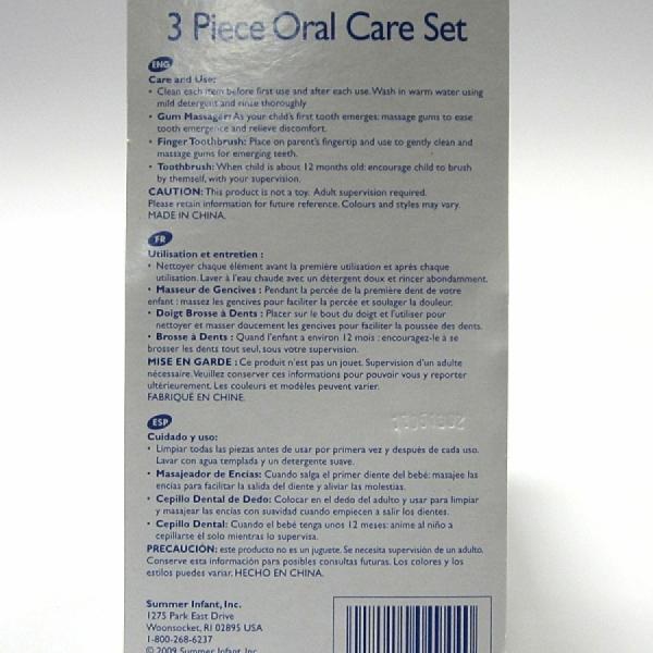 Summer Infant Oral Care Set 3