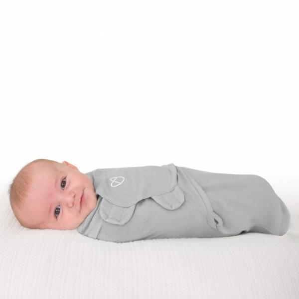 Детская пеленка из хлопка - Summer Infant Original SwaddleMe  Grey small