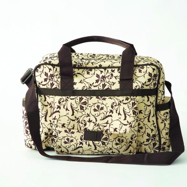 Changing Bag-Brown Izabel Print Tote