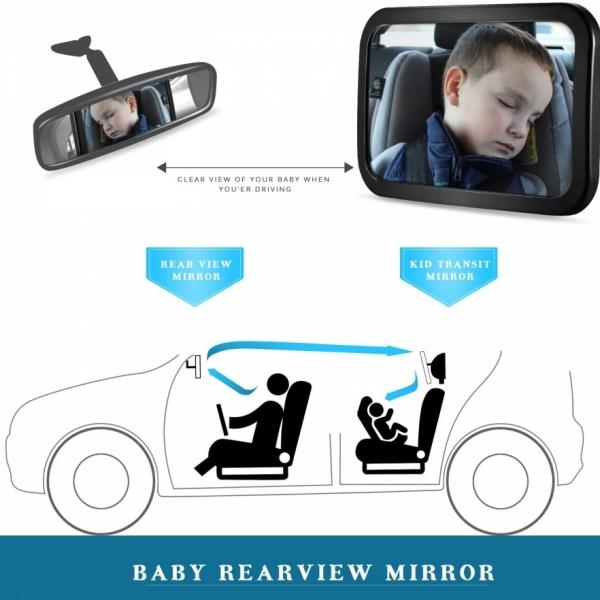Zoogi Spogulis Bērna novērošanai automašīnā