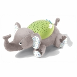 Детская ночная лампа - Summer Infant SLUMBER BUDDIES Серый слоник