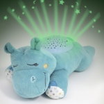 Slumber Buddies Dozing Hippo #06636